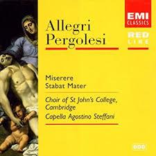 Allegri Pergolesi - Miserere Stabat Mater